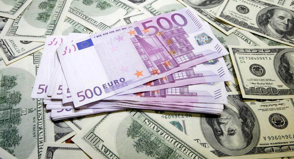 """""""Goldman Sachs"""": doleris pabrangs iki euro lygio"""