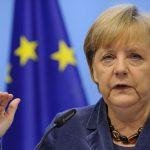 """A. Merkel: nėra """"amžinų garantijų"""", kad JAV rems Europą"""