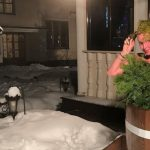 Skandalingoji Anastasija Voločkova apsinuoginusi sveikino gerbėjus iš ledo kubilo