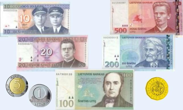 Gyventojai į eurus neiškeitė beveik 500 mln. litų – Lietuvos bankas