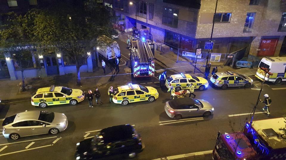 Londono naktiniame klube žmonės apipilti rūgštimi - 12 sužeistų
