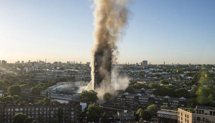 Gaisro daugiaaukščiame name Londone priežastis – sugedęs šaldytuvas