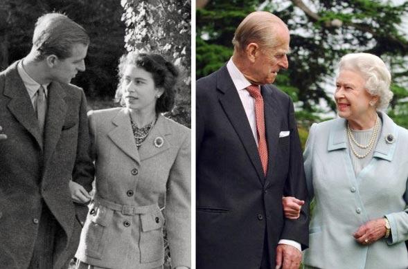 Karalienė Elžbieta II ir princas Filipas mini 70-ąjį sužadėtuvių jubiliejų